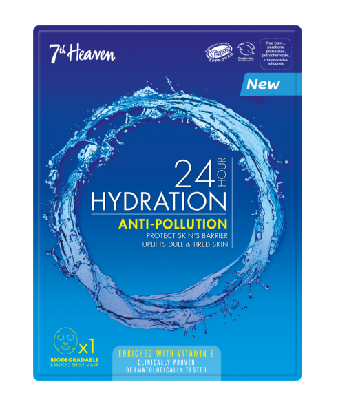 24h Hydration Anti-Pollution Maske, Unisex
