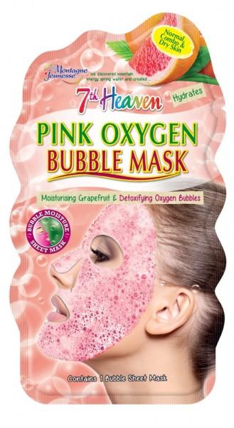 7th Heaven Bubble Maske Pink Oxygen