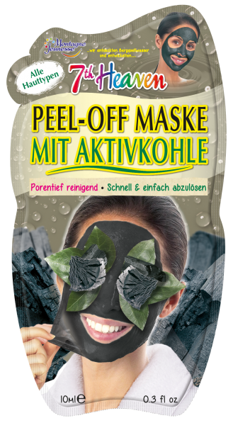 7th Heaven Peel-Off Maske Charcoal