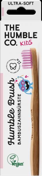 Humble Brush Kids Zahnbürste Pink
