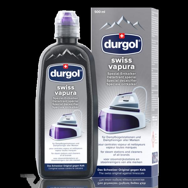 durgol®swiss vapura - Spezial-Entkalker - Dampfbügelsysteme/Dampfreiniger