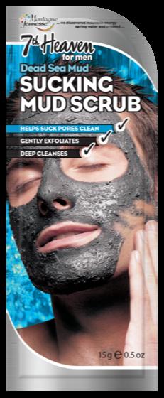 Männer Schlamm-Peeling Maske aus dem toten Meer