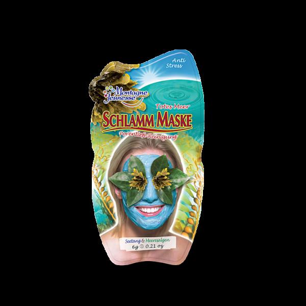 Montagne Jeunesse Schlamm Maske - Totes Meer mit natürlichen Inhaltsstoffen - Mini Sachet