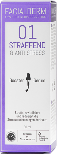 FacialDerm Serum Booster 01 Straffend & Anti-Stress