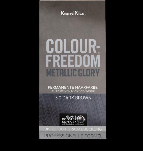 Colour-Freedom Metallic Glory Dark Brown 3.0
