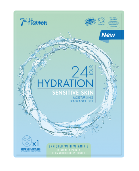 24h Hydration Sensitive Haut Maske, Unisex