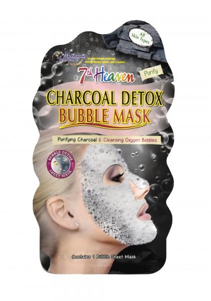 7th Heaven Bubble Maske Aktivkohle
