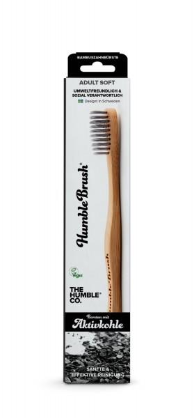 Humble Brush Zahnbürsten mit Aktivkohle-Borsten