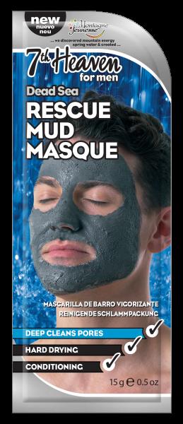 Schlammmaske für Männer mit Salz aus dem toten Meer