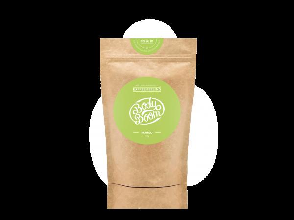 BodyBoom Kaffeepeeling Mango 100g