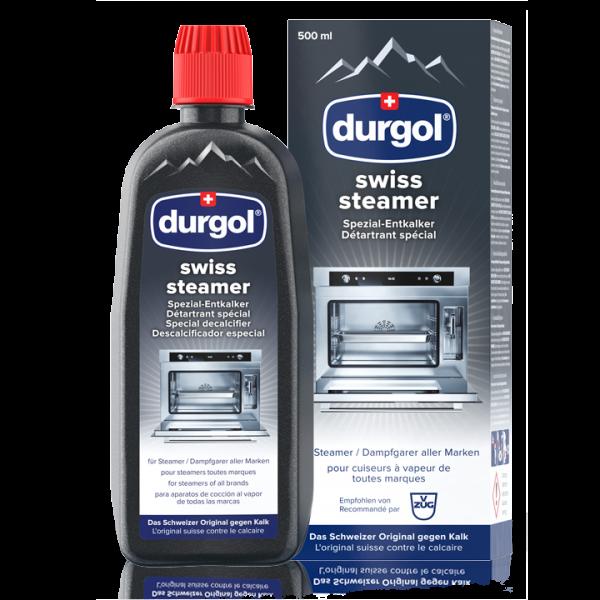 durgol® swiss steamer - Spezial-Entkalker - Steamer (Dampfgarer)