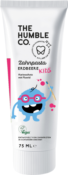 Humble Kids Zahnpasta Erdbeere 75 ml