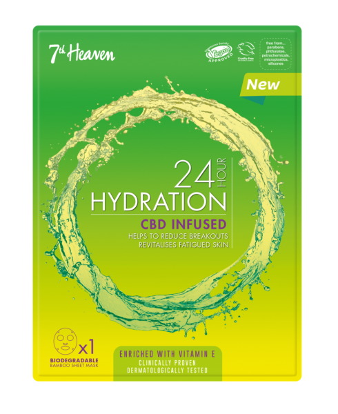 24h Hydration CBD Infusion Maske, Unisex