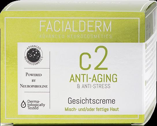 FacialDerm Gesichtscreme c2 Anti-aging für Misch- & fettige Haut