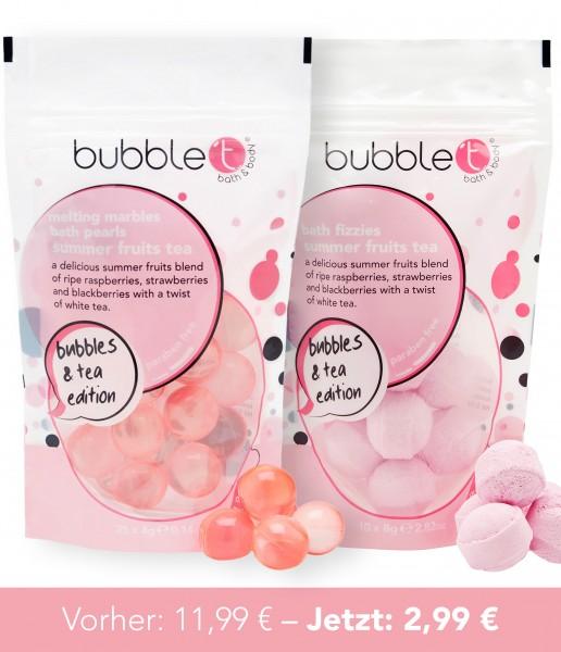 bubble t Bundle 3 - schmelzende Ölperlen, Badekugeln