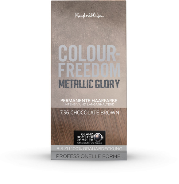 Colour-Freedom Metallic Glory Chocolate Brown 7.36