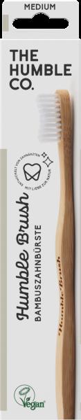 Humble Brush Bambuszahnbürste Adult Medium Weiß