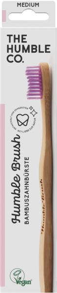 Humble Brush Bambuszahnbürste Adult Medium Pink