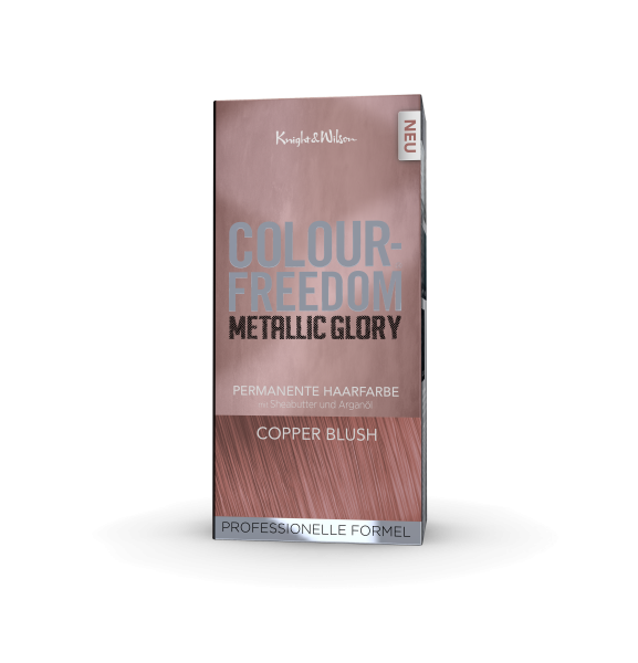 Colour-Freedom Metallic Glory Copper Blush