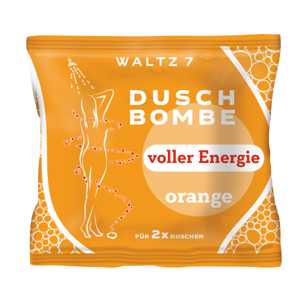 WALTZ 7 Duschbombe Orange