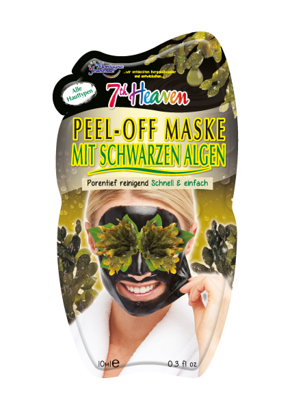 7th Heaven Peel-Off Maske Black Seaweed
