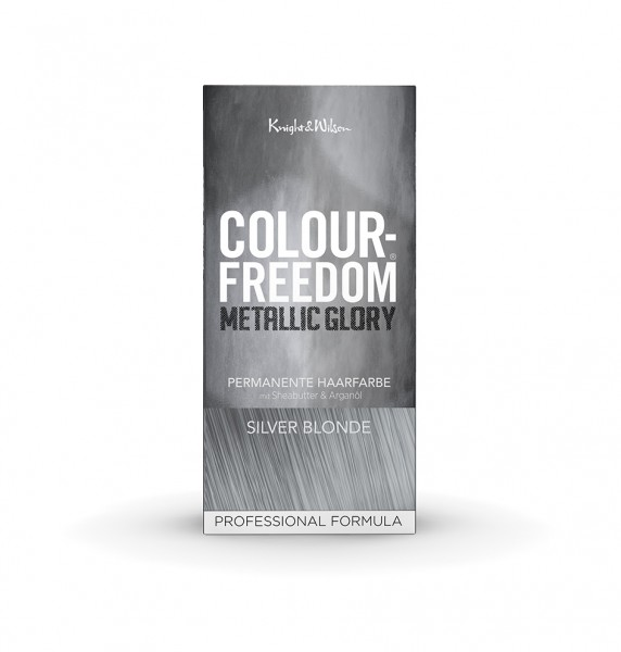 Colour-Freedom Metallic Glory Silver Blonde