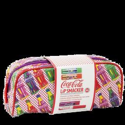 Coca Cola Cosmetic bag - Popart - incl. 3 Lippenpflegestifte u. 1 Lipgloss