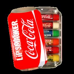 Geschenk Tin Box mit 6 Lippenpflegestiften