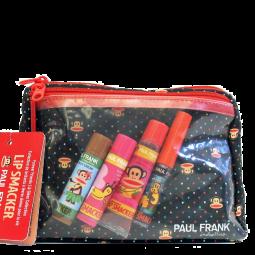 Paul Frank Cosmetic bag & Lip Balm Set - schwarz